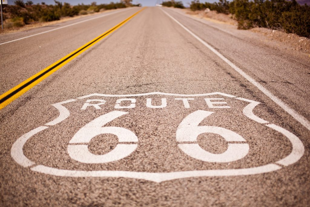 Route 66 in der USA
